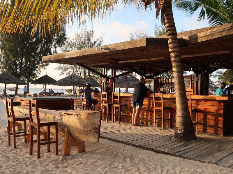 Beach Bar in Kendwa