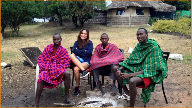 At Maasai Mara Lenchada Camp